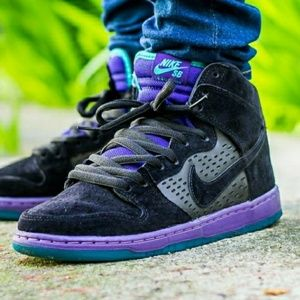 🔥Nike Dunk SB High Black Grape Sz. 9.5🔥